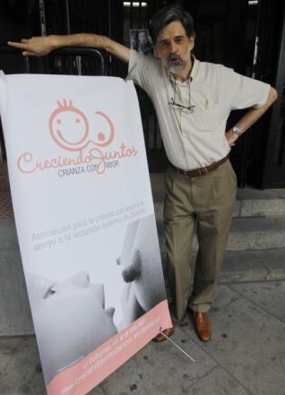 Carlos González invitado por Creciendo Juntos Zamora