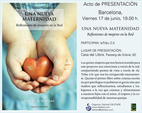 Prólogo: Una Nueva Maternidad por Rosa Jové