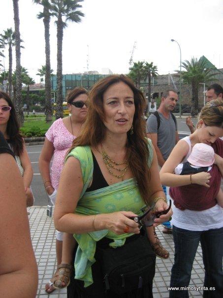 Organizando la salida de la marcha en la SICB 2009